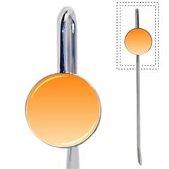 Orange To Peach Gradient Bookmark