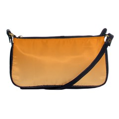 Orange To Peach Gradient Evening Bag