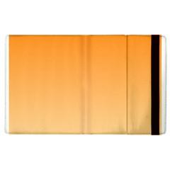 Orange To Peach Gradient Apple iPad 2 Flip Case