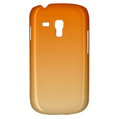 Orange To Peach Gradient Samsung Galaxy S3 MINI I8190 Hardshell Case