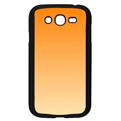 Orange To Peach Gradient Samsung I9082(Galaxy Grand DUOS)(Black)