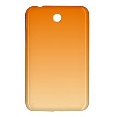 Orange To Peach Gradient Samsung Galaxy Tab 3 (7 ) P3200 Hardshell Case
