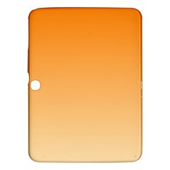 Orange To Peach Gradient Samsung Galaxy Tab 3 (10.1 ) P5200 Hardshell Case