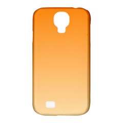 Orange To Peach Gradient Samsung Galaxy S4 Classic Hardshell Case (PC+Silicone)