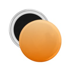 Peach To Orange Gradient 2.25  Button Magnet