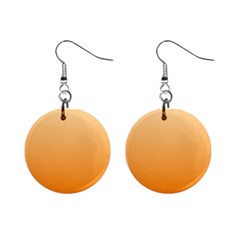 Peach To Orange Gradient Mini Button Earrings