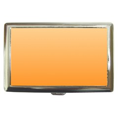 Peach To Orange Gradient Cigarette Money Case