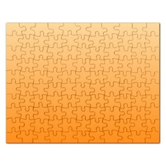 Peach To Orange Gradient Jigsaw Puzzle (Rectangle)