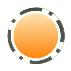 Peach To Orange Gradient Poker Chip