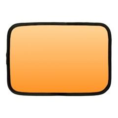 Peach To Orange Gradient Netbook Case (Medium)