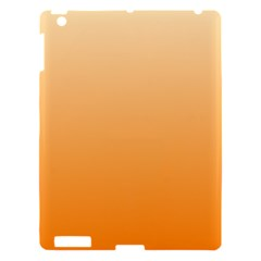 Peach To Orange Gradient Apple iPad 3/4 Hardshell Case