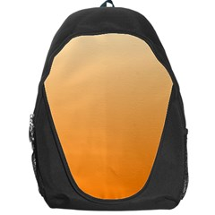 Peach To Orange Gradient Backpack Bag