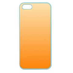 Peach To Orange Gradient Apple Seamless iPhone 5 Case (Color)