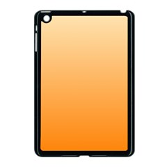 Peach To Orange Gradient Apple Ipad Mini Case (black)