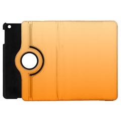 Peach To Orange Gradient Apple Ipad Mini Flip 360 Case