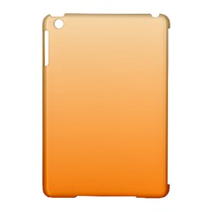 Peach To Orange Gradient Apple Ipad Mini Hardshell Case (compatible With Smart Cover)