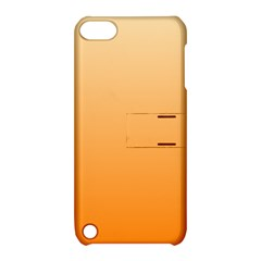 Peach To Orange Gradient Apple iPod Touch 5 Hardshell Case with Stand