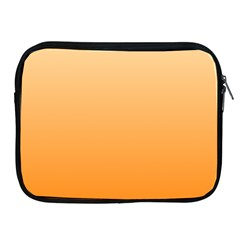 Peach To Orange Gradient Apple Ipad 2/3/4 Zipper Case