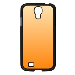 Peach To Orange Gradient Samsung Galaxy S4 I9500 (black)