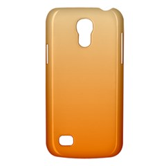 Peach To Orange Gradient Samsung Galaxy S4 Mini Hardshell Case