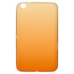 Peach To Orange Gradient Samsung Galaxy Tab 3 (8 ) T3100 Hardshell Case