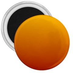 Amber To Mahogany Gradient 3  Button Magnet