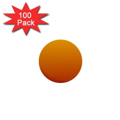 Amber To Mahogany Gradient 1  Mini Button (100 pack)