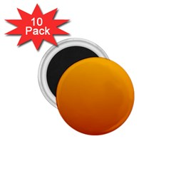 Amber To Mahogany Gradient 1.75  Button Magnet (10 pack)