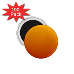 Amber To Mahogany Gradient 1.75  Button Magnet (100 pack)