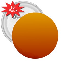 Amber To Mahogany Gradient 3  Button (10 Pack)