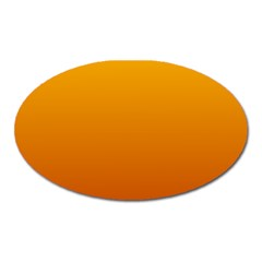 Amber To Mahogany Gradient Magnet (oval)