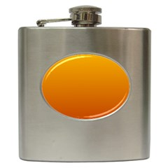 Amber To Mahogany Gradient Hip Flask