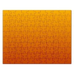 Amber To Mahogany Gradient Jigsaw Puzzle (rectangle)