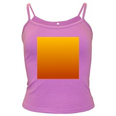 Amber To Mahogany Gradient Spaghetti Top (colored)
