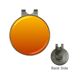 Amber To Mahogany Gradient Hat Clip With Golf Ball Marker