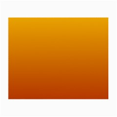 Amber To Mahogany Gradient Glasses Cloth (Small, Two Sided)