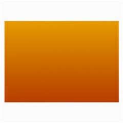 Amber To Mahogany Gradient Glasses Cloth (large, Two Sided)