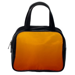 Amber To Mahogany Gradient Classic Handbag (One Side)