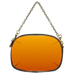Amber To Mahogany Gradient Chain Purse (one Side)