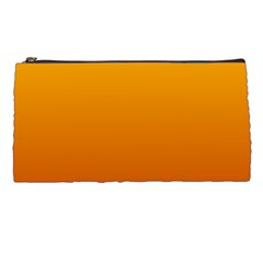 Amber To Mahogany Gradient Pencil Case