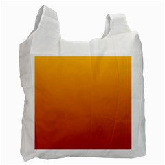Amber To Mahogany Gradient Recycle Bag (Two Sides)