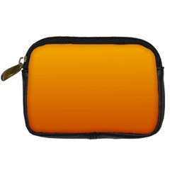 Amber To Mahogany Gradient Digital Camera Leather Case