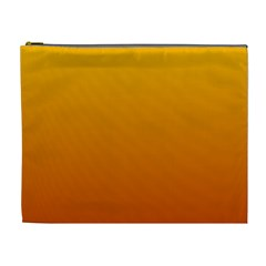 Amber To Mahogany Gradient Cosmetic Bag (XL)