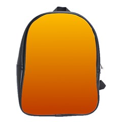Amber To Mahogany Gradient School Bag (Large)