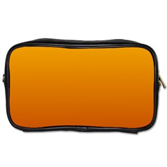 Amber To Mahogany Gradient Travel Toiletry Bag (Two Sides)