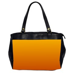 Amber To Mahogany Gradient Oversize Office Handbag (two Sides)