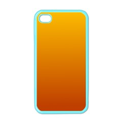 Amber To Mahogany Gradient Apple iPhone 4 Case (Color)