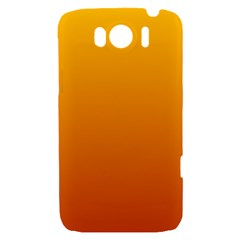 Amber To Mahogany Gradient HTC Sensation XL Hardshell Case