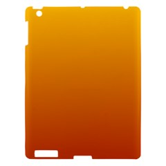 Amber To Mahogany Gradient Apple iPad 3/4 Hardshell Case
