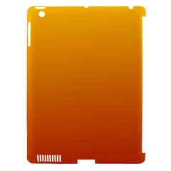Amber To Mahogany Gradient Apple iPad 3/4 Hardshell Case (Compatible with Smart Cover)